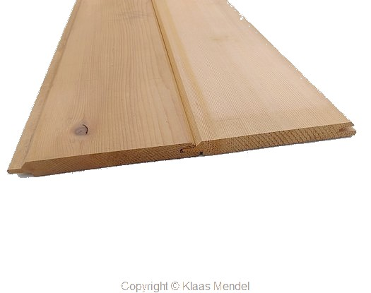 puntgroef red cedar hout